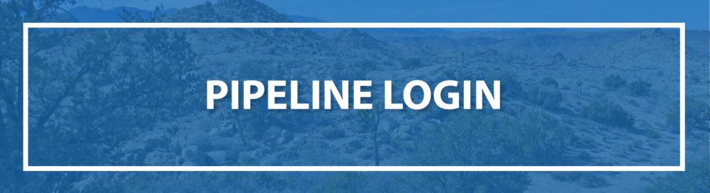 Pipeline login banner